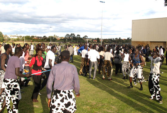 Bor Dancers join the Australian S. Sudanese community in marking the day