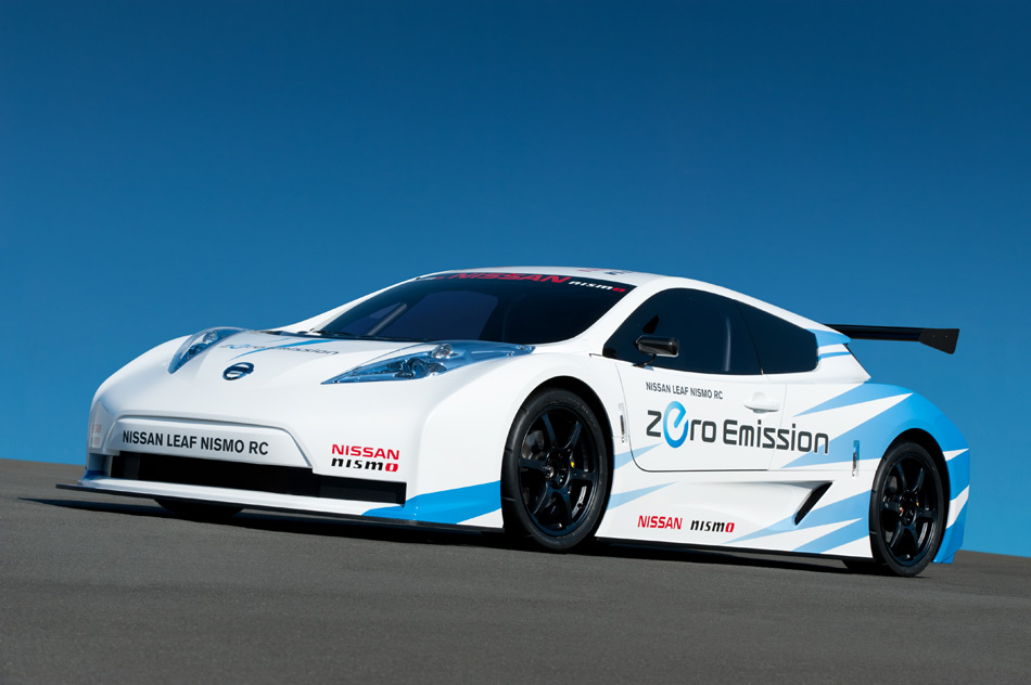 The one-off track vehicle by NISMO: the Nissan LEAF NISMO RC