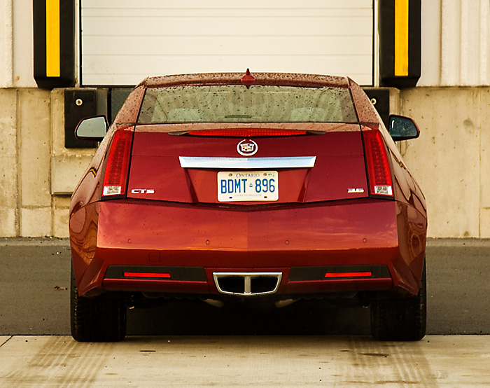 2011 Cadillac CTS Coupe Rear End