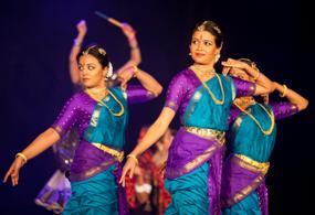 Dancers from Lata Pada's Sampradaya Dance Creations entertained guests at Trillium Diwali 2011 at the International Centre