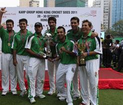 Victorious Pakistani Team