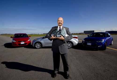 John Vemile with AJAC awards