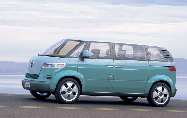 The VW Microbus Concept from 2001