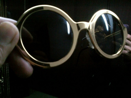 Lady Gaga's Glasses which she gifted to SRK