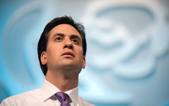 The Labour leader - Ed Miliband