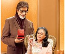 Amitabh and Jaya Bachchan in Tanishq Commercial