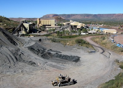 A Mining Site