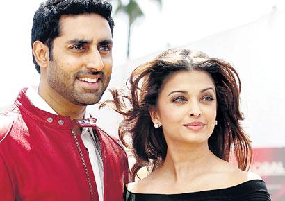 Abhishek Bachan and Aishwarya Rai