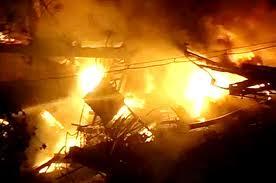Fire in South Mumbai