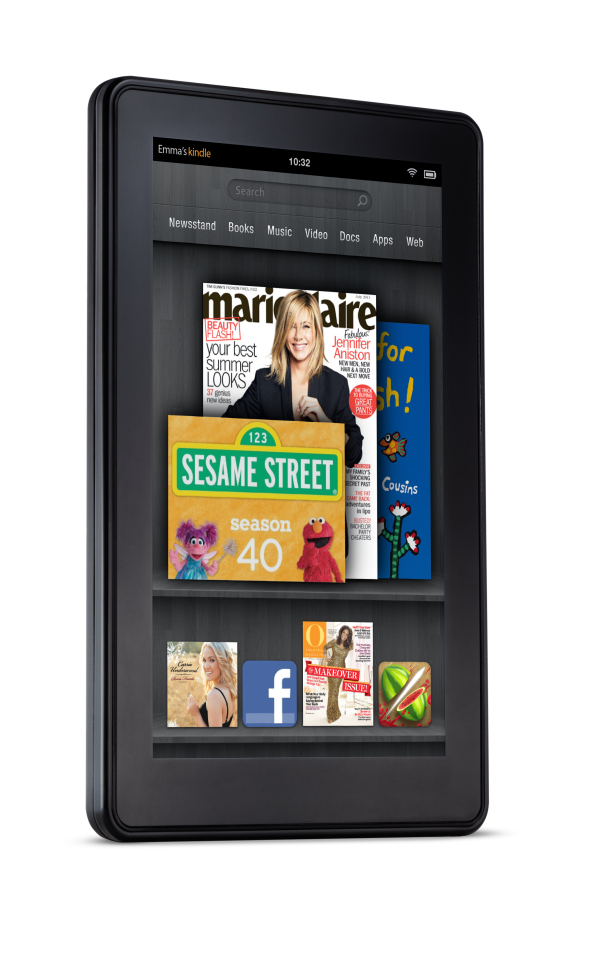 Amazon's Kindle Fire Tablet