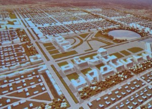 A sketch of the proposed modernisation of Torit town presented by a German firm, PDL International. [©Gurtong]