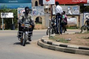 Boda Boda Riders in South Sudan
