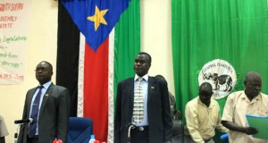 The Central Equatoria State Governor Clement Wani was the chief guest during the re-opening of the Assembly. [© Gurtong]