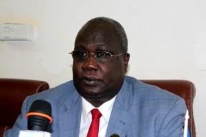 The South Sudanese Deputy Minister of Roads and Transport Mayo Kuok Malek. [©Gurtong]