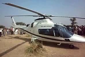 Ashok Gehlot's chopper made emergency landing