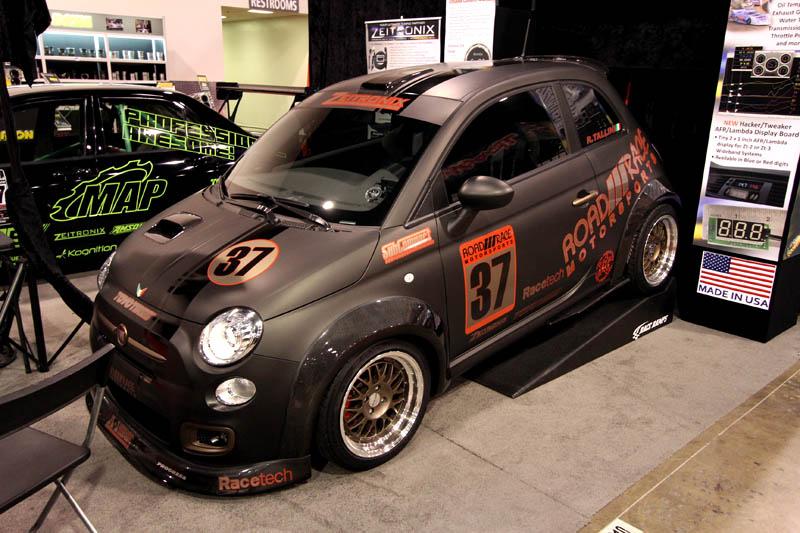SEMA 2011 - Fiat 500