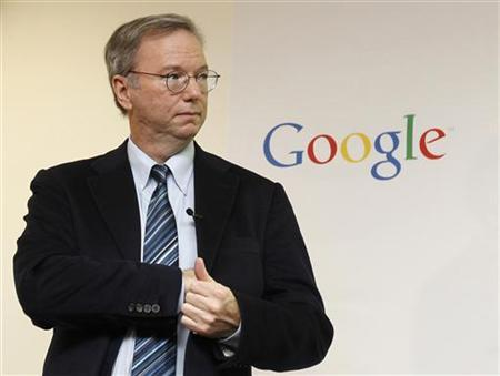 Google Chairman, Eric Schmidt