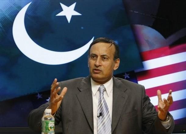 Pakistan's ambassador to Washington Hussain Haqqani