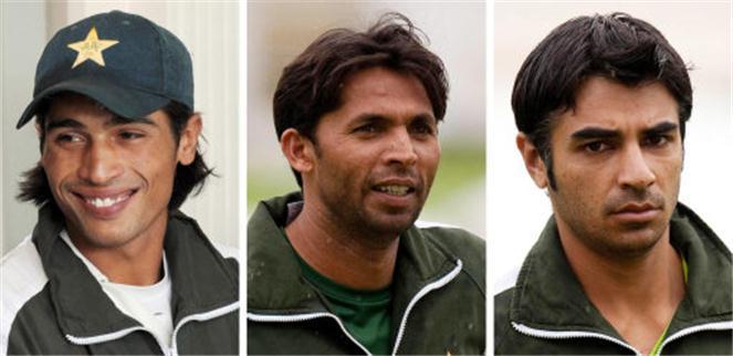 Amir, Asif & Butt sentenced to Jail
