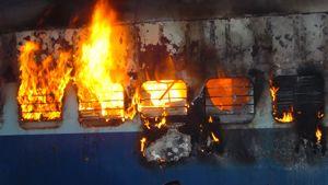 Two Howrah-Dehradun Express Coaches catch fire