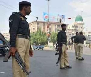 Karachi Police arrest 5 Jundullah group Terrorists