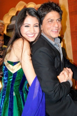 Anushka Sharma & Shah Rukh Khan paired in the 2009 Super Hit Rab Ne Bana Di Jodi