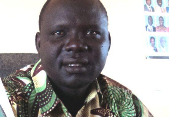 The Commissioner of Kapoeta North County Mr. Lokai Iko Loteyo [©Gurtong]