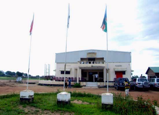 The Eastern Equatoria State Legislative Assembly Premises