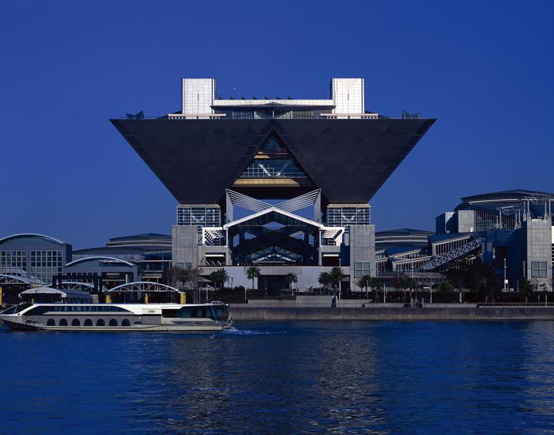 The Tokyo Big Sight complex, Koto, Tokyo, Japan