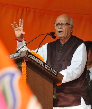 BJP Party Leader, L K Advani