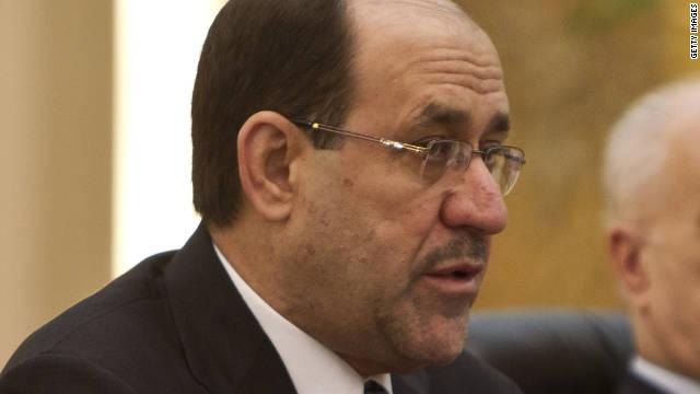 Iraq's PM, Nouri Al-Maliki