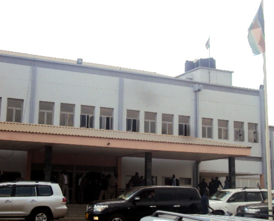 The South Sudan National Assembly