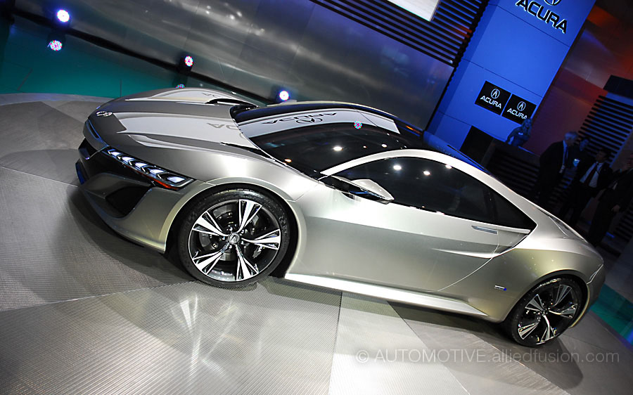 Tony Stark's car in the flesh, the 2013 Acura NSX Concept