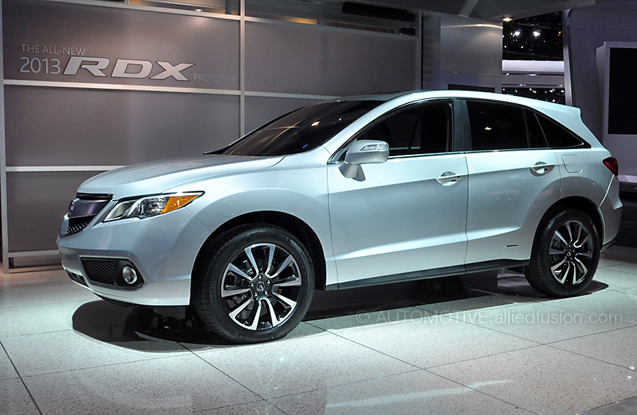 A much needed update to Acura's smaller SUV. This is the 2013 Acura RDX