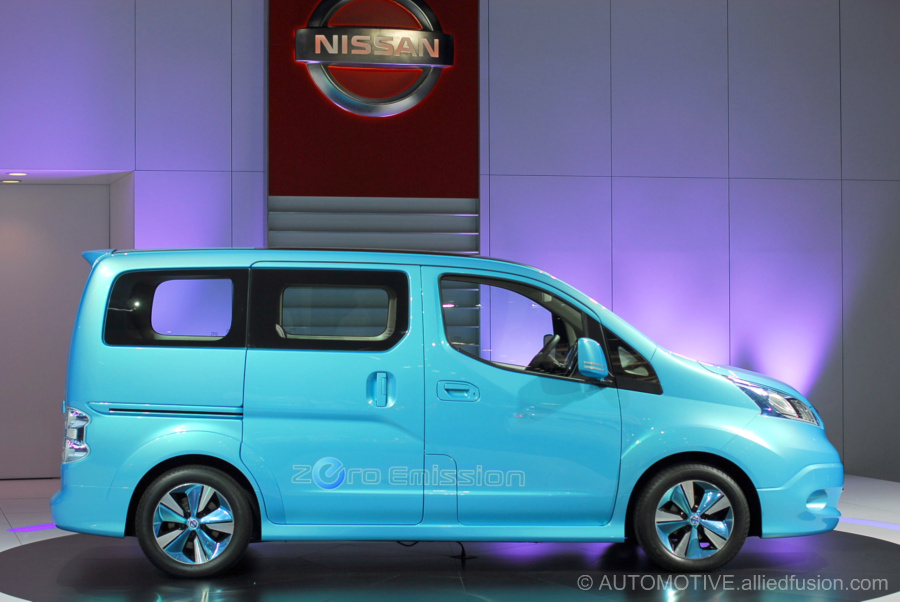 Nissan e-NV200 first seen at the North American International Auto Show in Detroit
