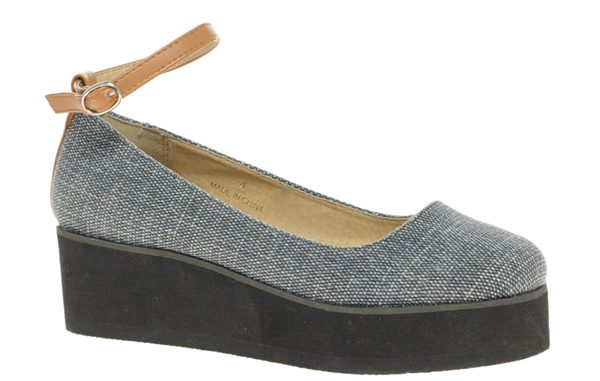 ASOS VERITY Mary Jane Flatform, $53.72, available at ASOS.