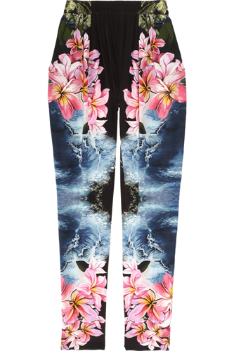 Stella McCartney Hawaiian Print Silk Pants, $1,165, available at Net-a-Porter.