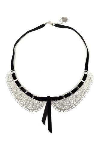 Polli Stainless Steel Necklace, $130.91, available at Hannah Zakari.