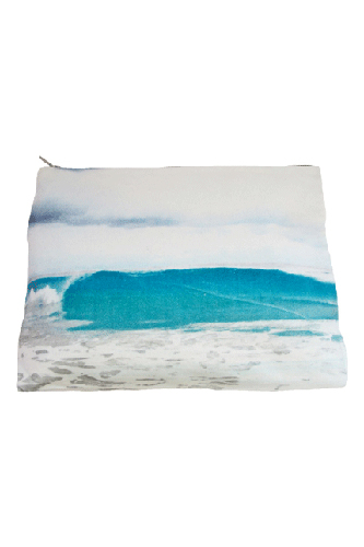 Samudra Tulum Wave Pouch, $60, available at Shop Samudra.