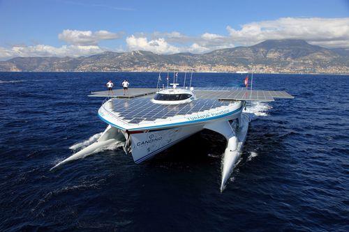 Solar Powered Yacht