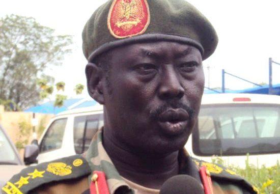 Col. Philip Aguer Panyang, the SPLA spokesperson