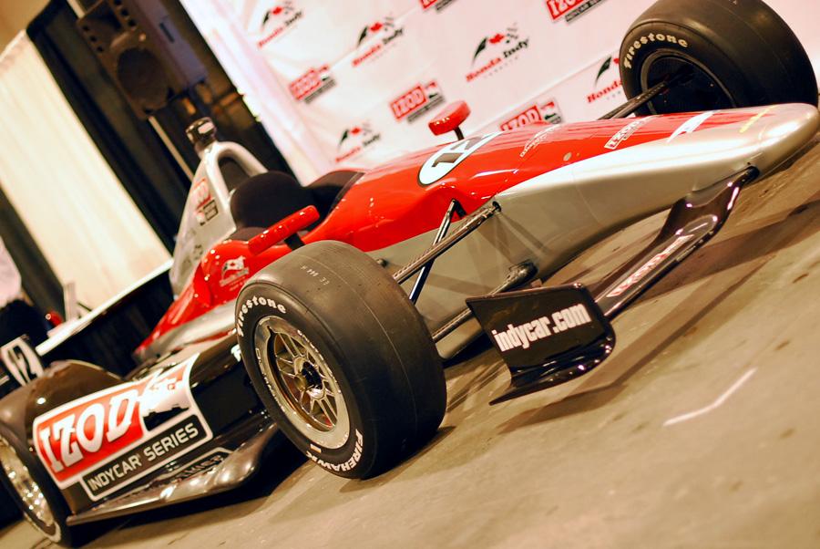 The all-new 2012 Dallara DW12 IndyCar