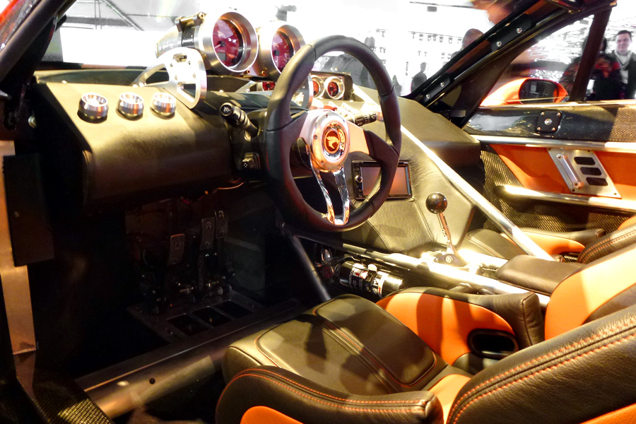 A peak into the raw look and fighter jet influenced interior (Aman Dhanoa)