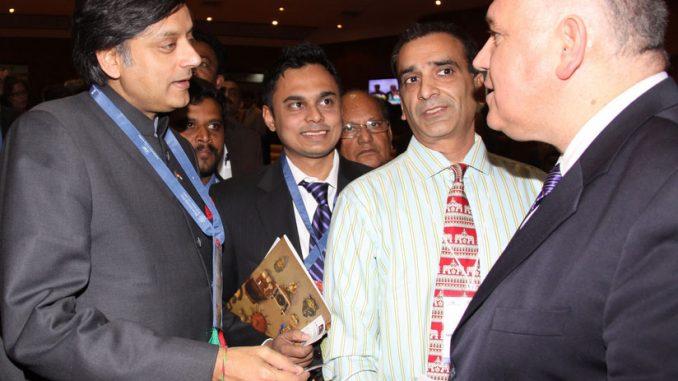 Mayor and Dr. Shashi Tharoor, Jaipur