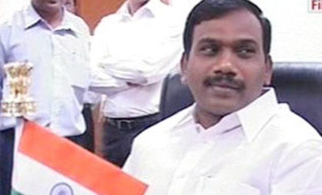 Former Telecom Minister, A.Raja