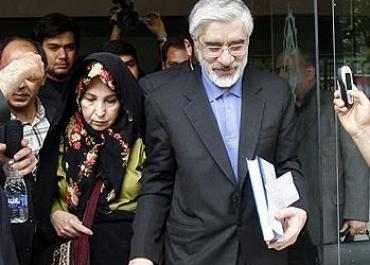 Iranian opposition leader, Mir Hossein Mousavi