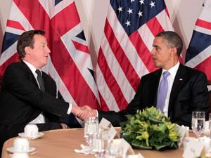 U.K. PM, David Cameron & U.S. President, Barack Obama