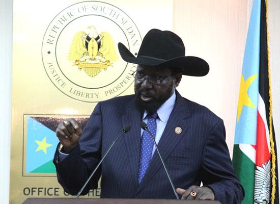 President Salva Kiir Mayardit