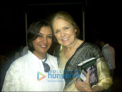 Shabana Azmi & Gloria Steinem