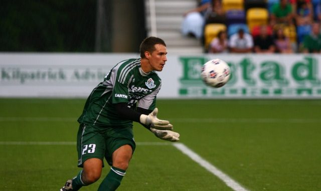 FC Edmonton 'keeper John Smits made his first pro start on Saturday night against the Atlanta Silverbacks in Georgia. Smits and his teammates held the 'Backs off the score sheet and came away with a 2-0 win.